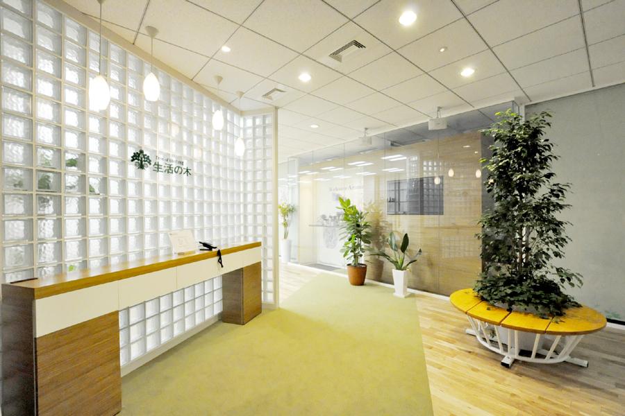 アロマの香り漂うオフィスで、おもてなしの心を。</p>